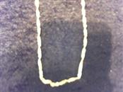 14K Yellow Gold 1.2g anklet